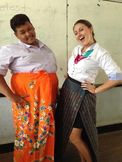 ladyboy student in Thailand