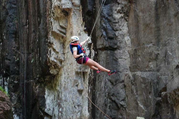 Canyoning in Dalat Vietnam