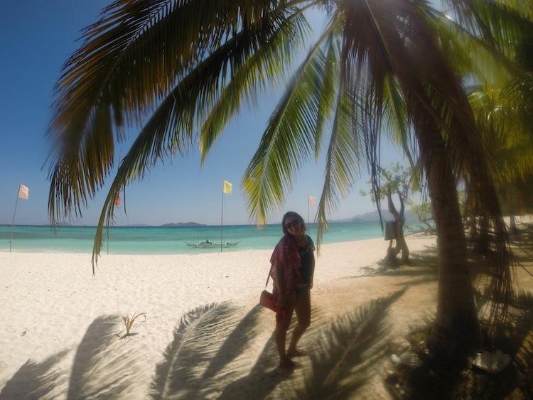 beach in Coron