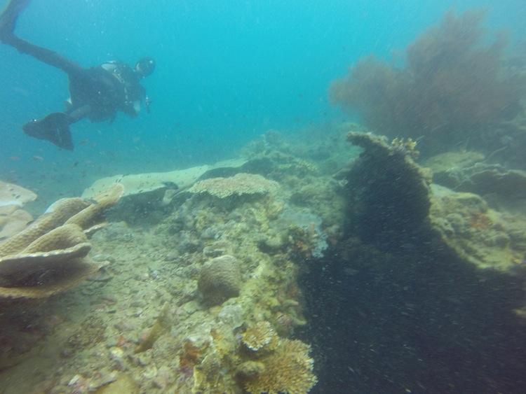 shipwreck diving Coron Philippines