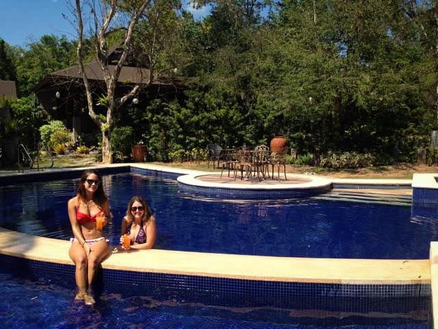 pool in Coron