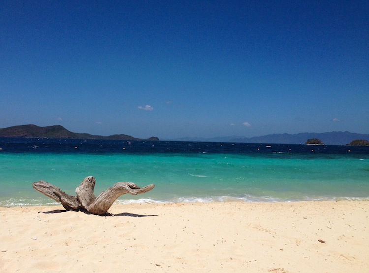 beach in Coron