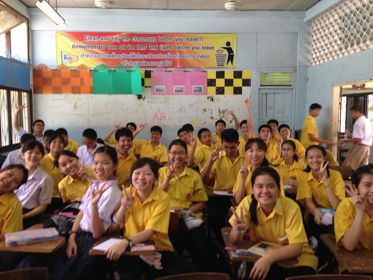 teaching job in Thailand