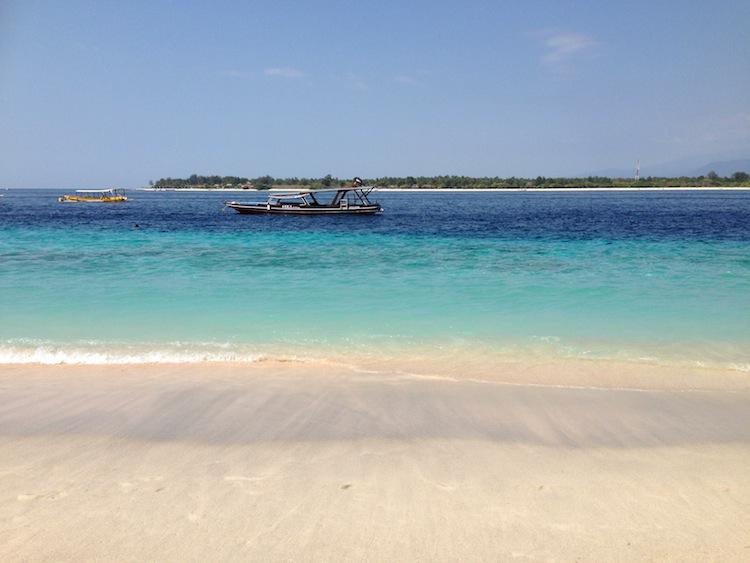 beach in Gili Trawagan
