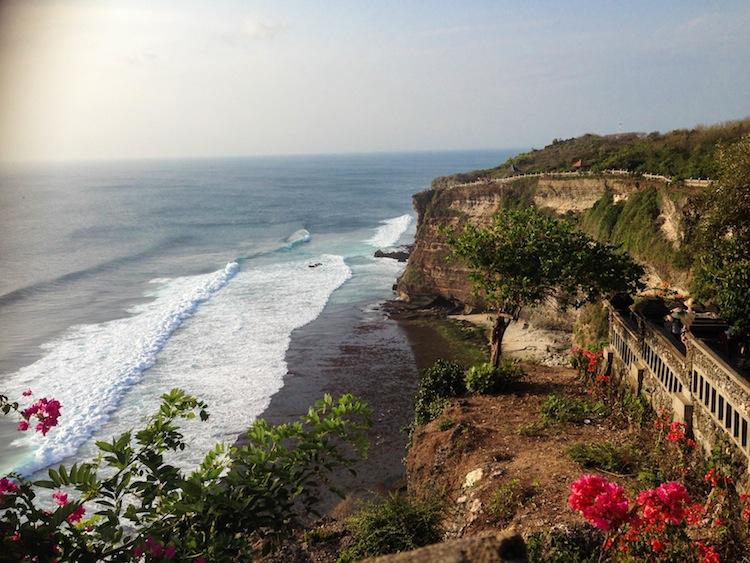 Cliffs at Uluwatu