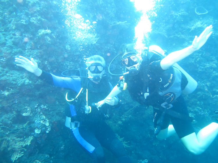 diving in Tulamben