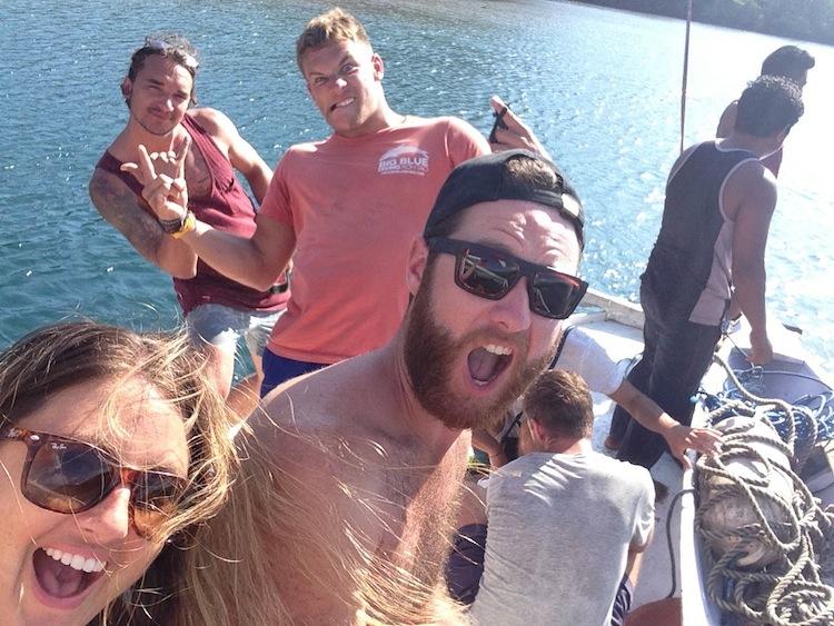Komodo island boat trip