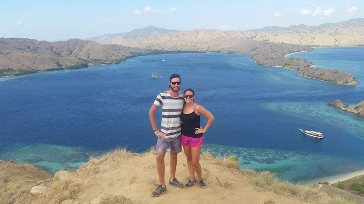 hiking near Komodo Island