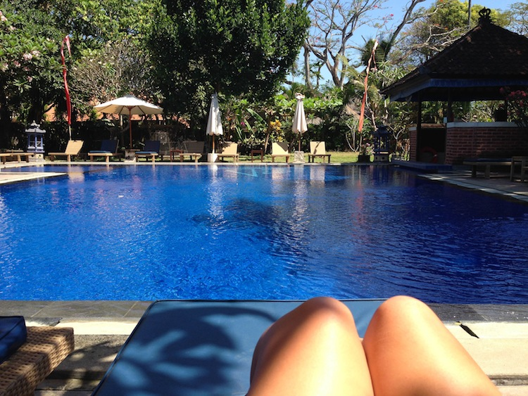 pool in Sanur
