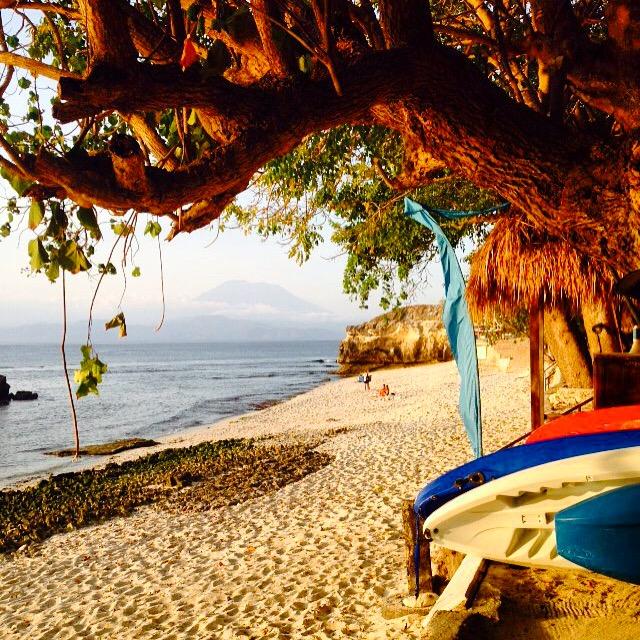 beach in Nusa Lembongan