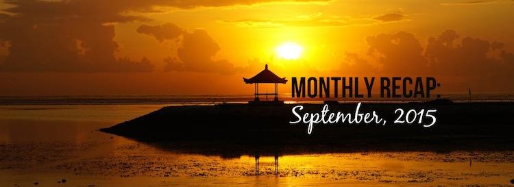 monthly recap bali