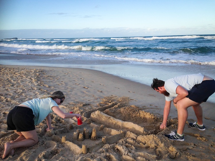 sand castles in australia