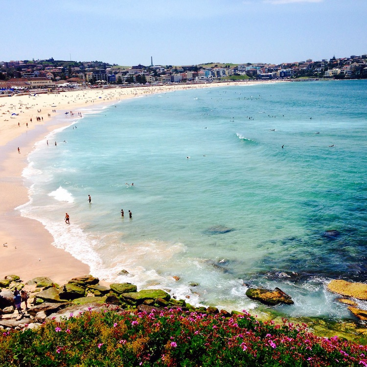 view of Bondi beach