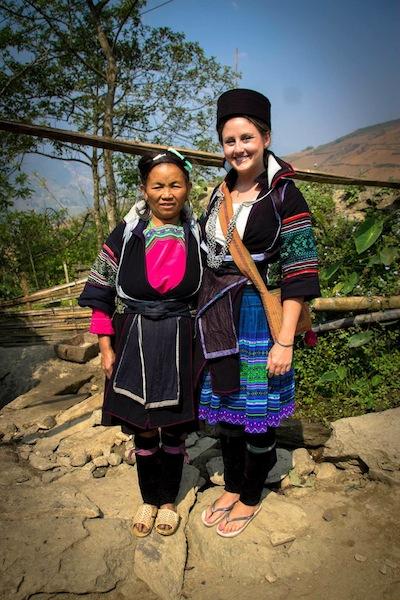 Hmong tribe Sapa Vietnam