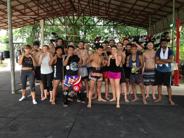 training in Muay Thai in Pai