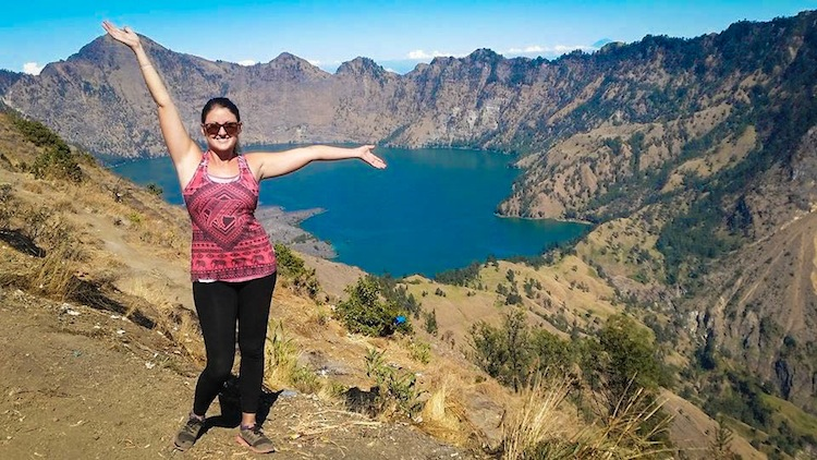crater of Mt Rinjani