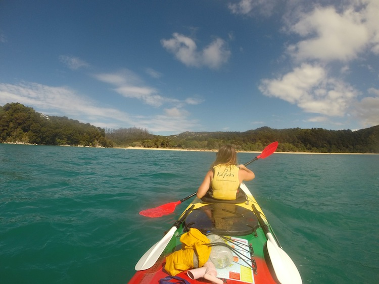 kayaking Abel Tasman New Zealand