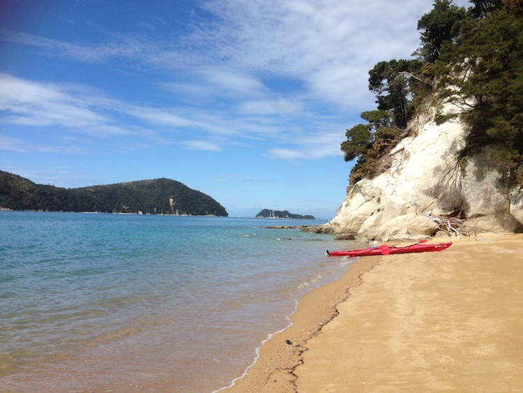 beach in Abel Tasman New Zealand