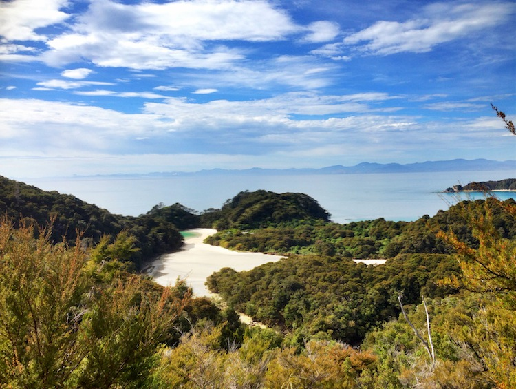 Traveling solo hiking Abel Tasman New Zealand