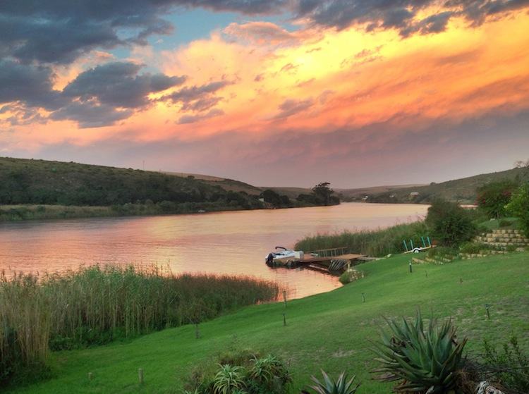 Traveling Africa solo as a woman Breede River South Africa