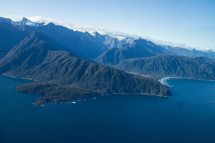 Flying to Milford Sound