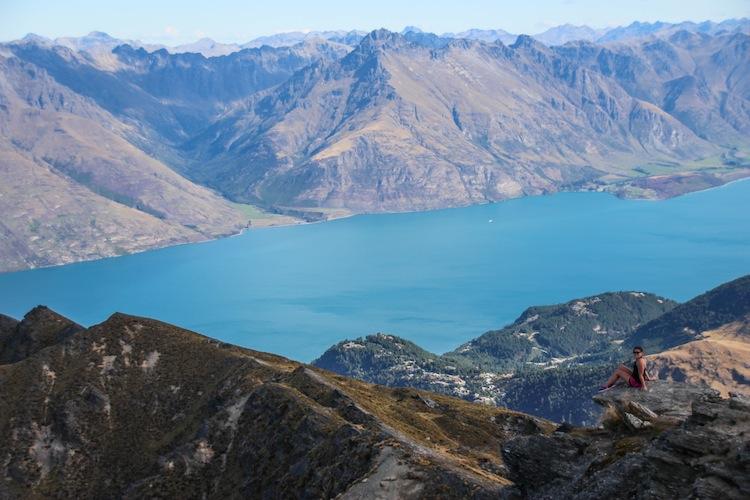 traveling solo hiking Ben Lomond trail