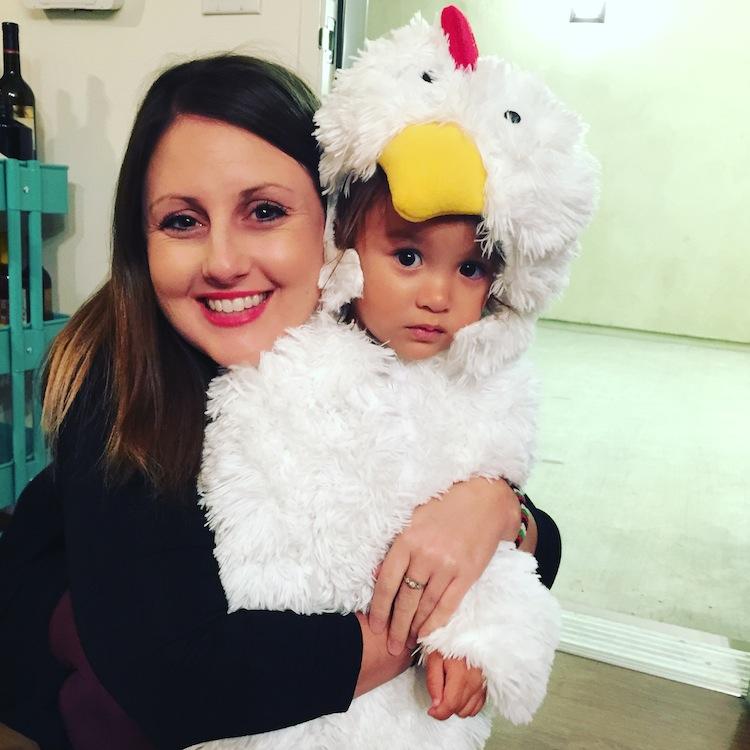 cutest little chicken