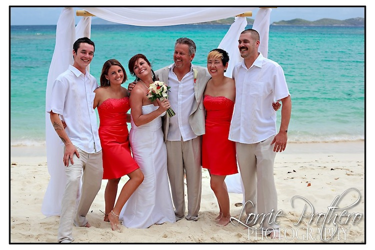 Caribbean Beach Wedding On St Thomas